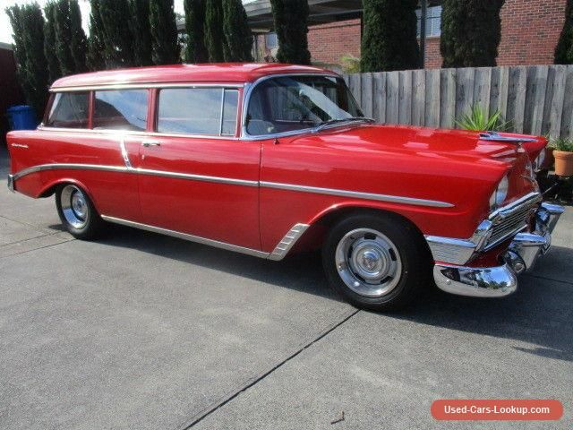 Car For Sale 1956 Chevrolet 210 2 Door Wagon Classic Cars Chevy Cars For Sale Chevrolet