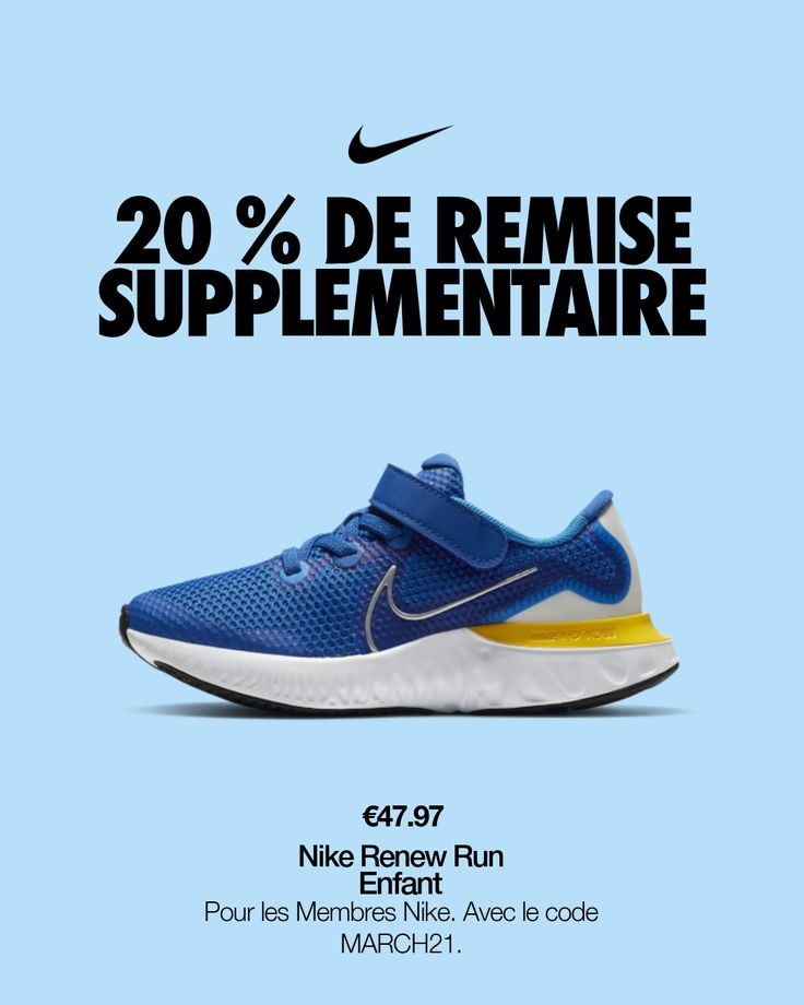 Chaussure Nike Renew Run pour Jeune enfant. Nike FR en 2021 ...