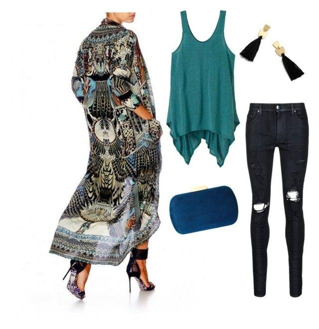 """Camilla Long Jacket Styling 🖤"" by giselle-latta on Polyvore featuring AMIRI, prAna, Madewell and Natasha"