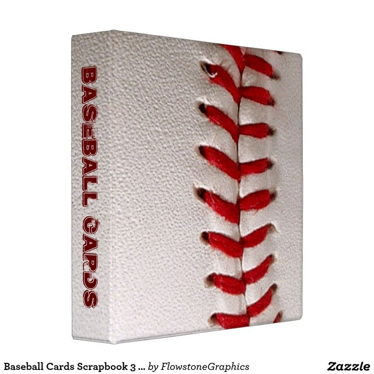 1000 ideas about baseball card organizer on pinterest for American crafts 3 ring scrapbook album binder
