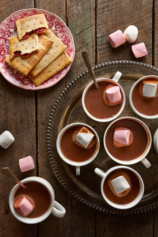 Hot Chocolate with pop tarts