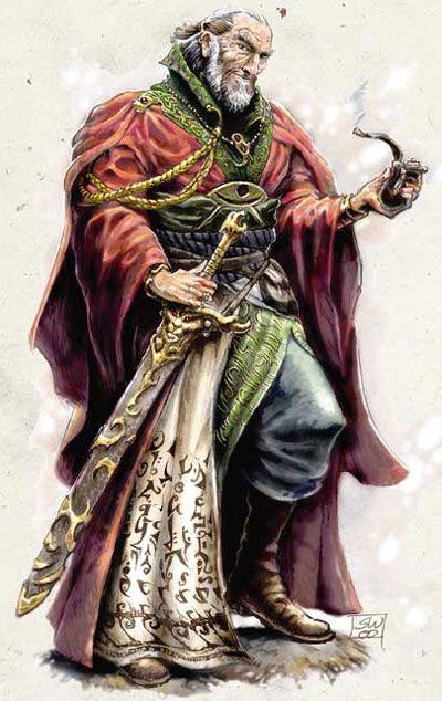 The Wizard Elminster Aumar