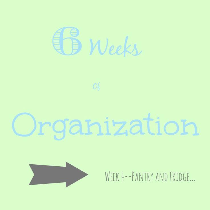 The Kolb Corner | 6 Weeks of Organization–Week 4–Pantry and Fridge | http://thekolbcorner.com