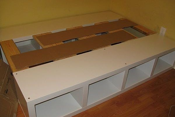 Platform Bed with Storage Phase 2