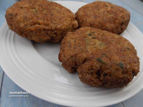 Tonhal fasírt Nagyon gyorsan elkészíthető tápláló étel a tonhalfasírt. Gluténmentes tonhal fasírt receptünk mellé főzeléket, főtt rizst ajánlunk tálaláshoz
