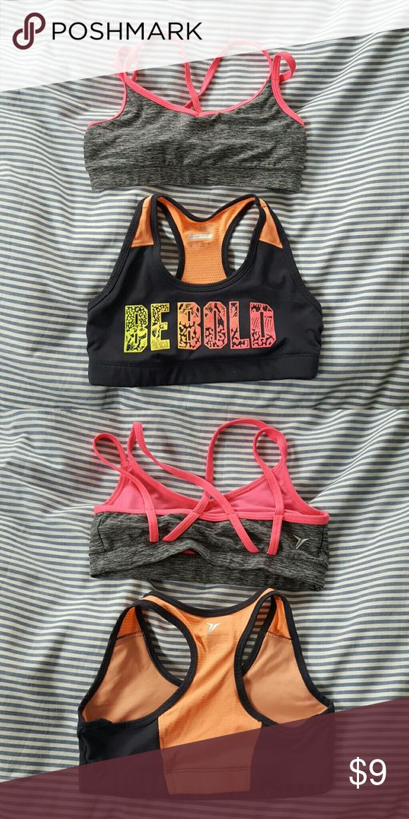 Old Navy sport bras *Bundle* Old Navy sports bras. Great condition.  Not stretched out, no holes, rips or tears. Old Navy Shirts & Tops