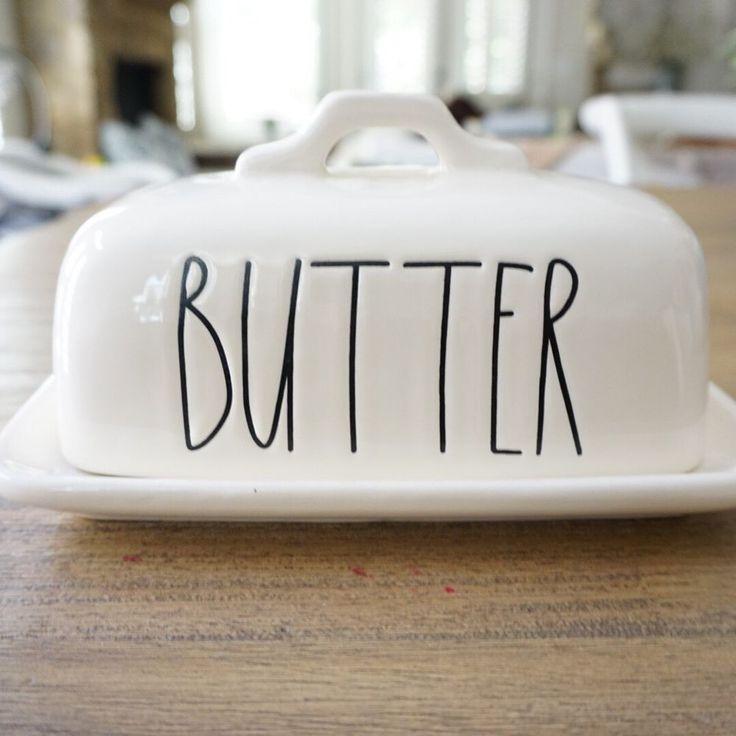 Rae Dunn Magenta Butter Dish New