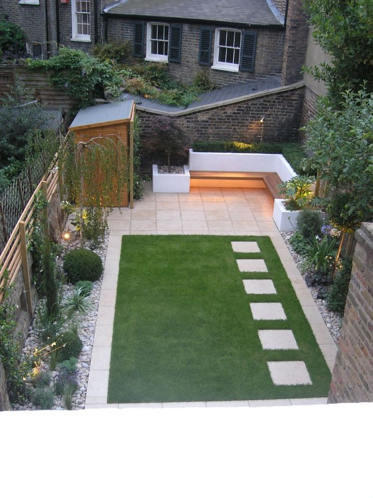 Best 25 simple garden designs ideas on pinterest small for Small back garden ideas