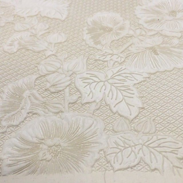 Impression sur papier thermique #atelierdoffard #papierpeint #wallpaper #design #art #workshop #handmade #madeinfrance #luxury