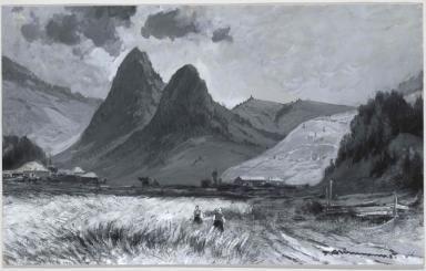 Adam și Eva în Munții Carpați