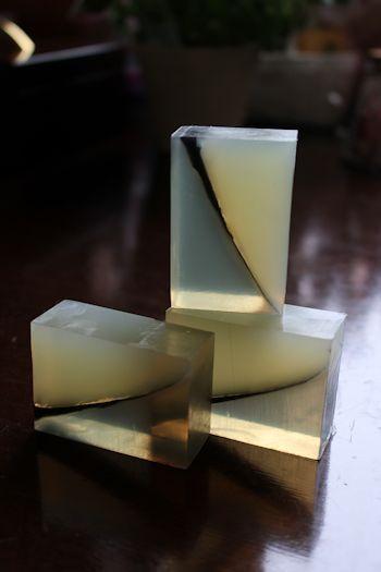 透明になるタイミング 新潟 手作り石鹸の作り方教室 アロマセラピーのやさしい時間