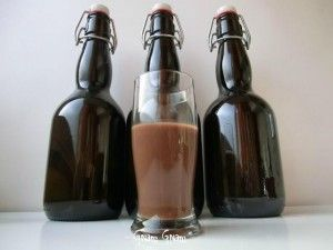 Crema di liquore alla Nutella (Nutella cream liquor)
