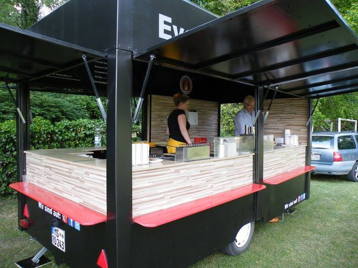 Image result for tent trailer converted into concession
