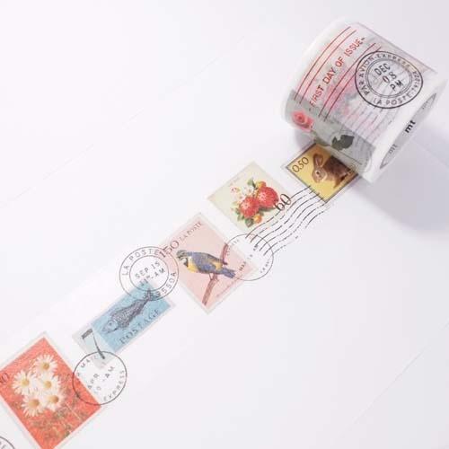 masking tape: stamp