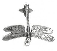 Bright Chrome Luna Dragonfly Door Knocker - Chrome Door Knockers - Door Knockers - Door Furniture - Home & Interiors - Catalogue | Black Country Metal Works