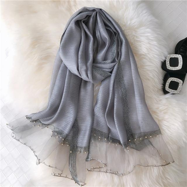 Women Silk Wool Scarf High Quality Women Silk Wool Scarf High Quality