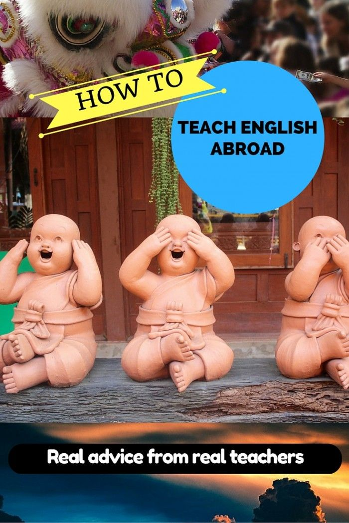 How to Teach English Abroad in Japan, Thailand, Spain, + Beyond via @BrokeBackpacker
