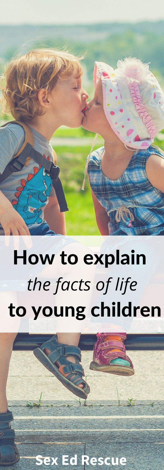 As a parent, most of us know that at some stage, that we'll need to start explaining the facts of life to our kids. But when do you start and what do you say?