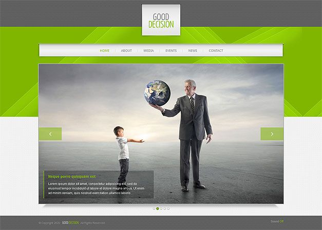 ADVERTISING AGENCY RESPONSIVE WEB TEMPLATE
