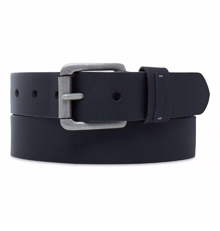"""Réf : A1CP6  Nul doute que la Ceinture Cuir Homme Timberland 38MM Leather Emboss Keeper vous ira comme un gant. À la fois chic et """"casual"""", cette ceinture en cuir de buffle, est disponible en S,M,L et XL."""