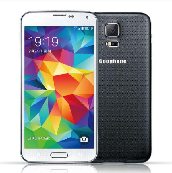 Cela faisait un petit moment que nous n'avions pas abordé un pur produit de Shanzhai. L'occasion était bien trop belle et tentante avec le dernier né du copiste Goophone. Si celui ci avait envie de défroquer un peu Samsung et son Galaxy S5, il l'aura fait d'une manière ...