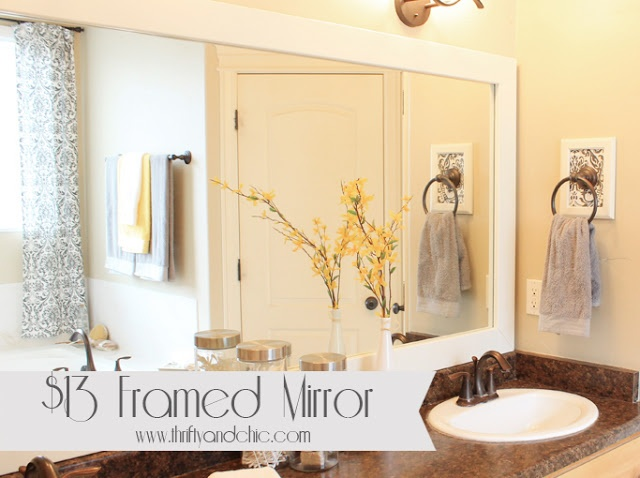 Best Of B Q Bathroom Mirrors: 17 Best Images About DIY Projects On Pinterest