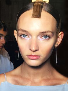 HAIR DIRECTION RENYA XYDIS @ THE ARTIST GROUP FOR WELLA PROFESSIONALS  HARYONO SETIADI SS15    Makeup: Gordon E for MAC Cosmetics Stylist: Jolyon Mason @ Vivien's Creative