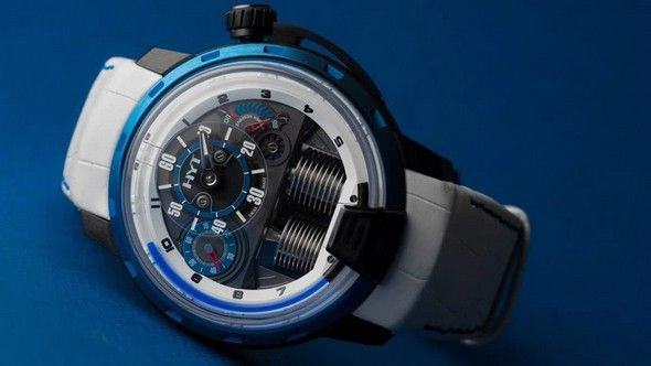 Luxury Watches: Get Your HYT Limited-Edition |#LuxuryWatches #Watches #HYT #limitededition #baselshows #basel #mostexpensive | http://www.baselshows.com/watch-brands/luxury-watches-get-your-hyt-limited-edition