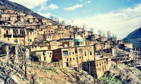 Masuleh in the 1980s.