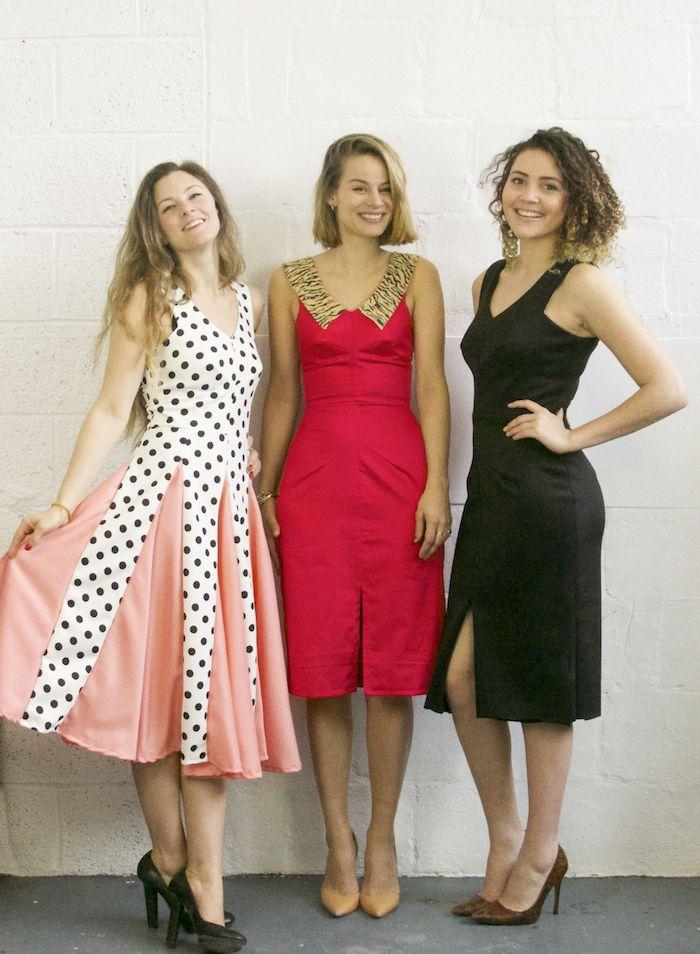 3 girls, 1 pattern: The Sophia Dress