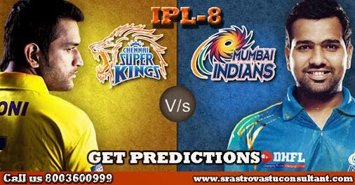 S.R Astro offers IPL T20 cricket prediction from IPL Predictor. Our schooled astrologer provides IPL T20 Cricket predictions.So if you are keen to get more about IPL8 predictions then visit our site. For more details contact us or whatsapp  at 8824766999.