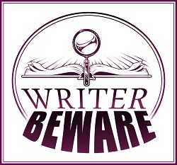 Write Beware -- the perils of self publishing. I love self publishing, BUT there are challenges. Be careful: http://www.sfwa.org/other-resources/for-authors/writer-beware/pod/