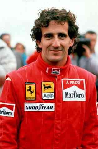 Another favourite F1 driver: Alain Prost - The Professor, 4 time F1 Champion