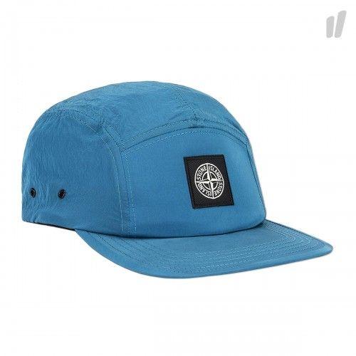 Stone Island Nylon Metal Cap  men  accessories  azure  cap  headgear 19a82f3c635