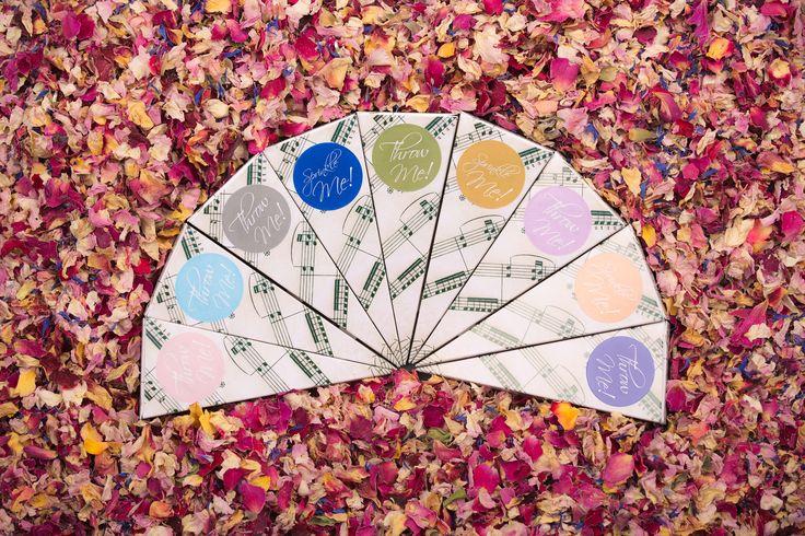 Vintage Music Wedding Confetti or Favour Cones
