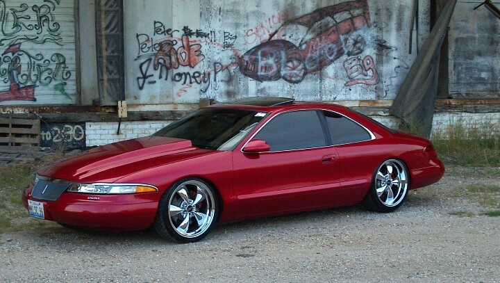 1996 Lincoln Mark VIII LSC - this looks just like mine. I miss her....