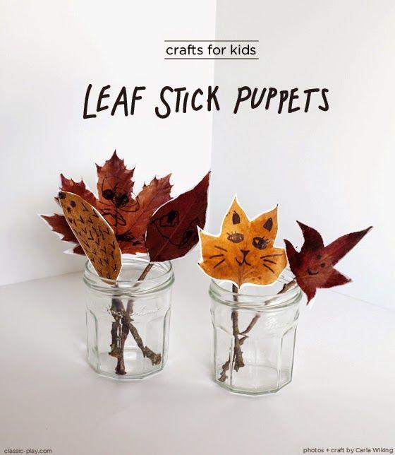 Sempre criança:       http://www.classic-play.com/crafty-kids-leaf...