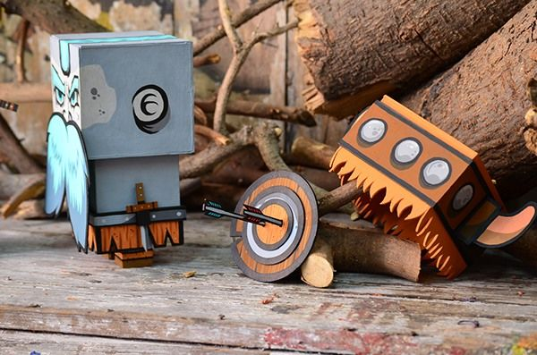 VIKINGO TOY on Behance