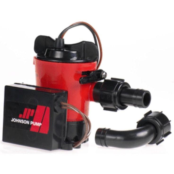 Johnson Pump 1000GPH Ultima Combo Pump 3/4 Hose Dura Port
