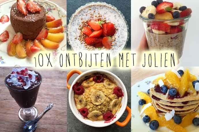 gezond ontbijten