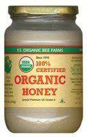 YS Organic Bee Farms CERTIFIED ORGANIC RAW HONEY 100% CERTIFIED ORGANIC HONEY Raw, Unprocessed, Unpasteurized - Kosher 32oz by YS Organic, http://www.amazon.com/dp/B00014JNI0/ref=cm_sw_r_pi_dp_G1R9rb0HH40E1