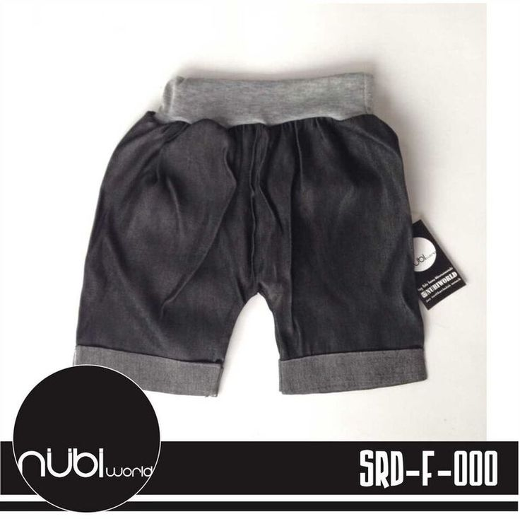 Celana Pendek Bayi Denim Nubi SRD-F-000 - Black - http://www.adorababyshop.co/jual/celana-pendek-bayi-denim-nubi-srd-f-000-black/