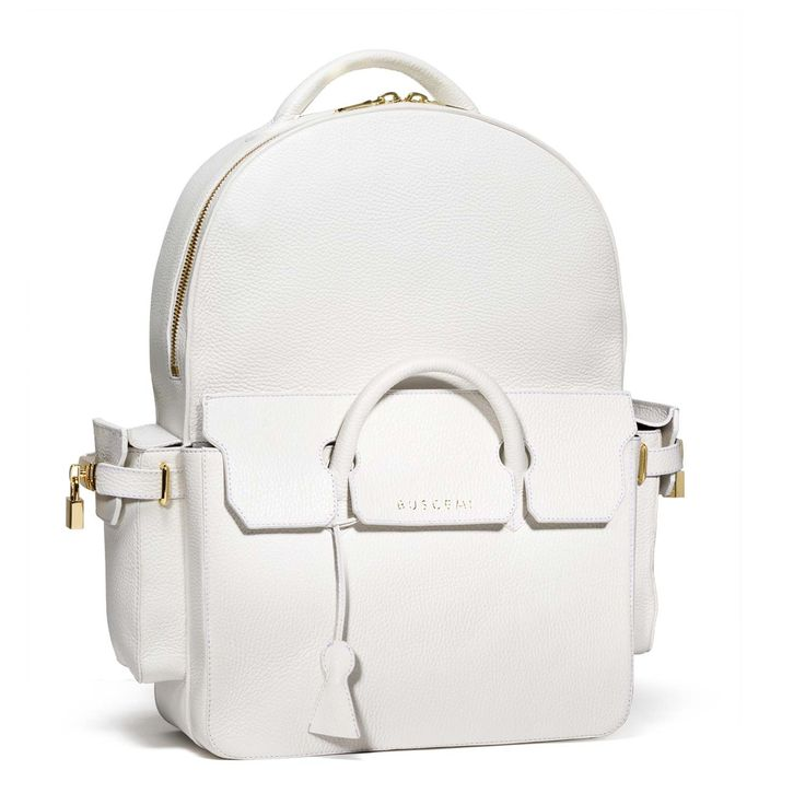 BUSCEMI PHD BACKPACK | WHITE