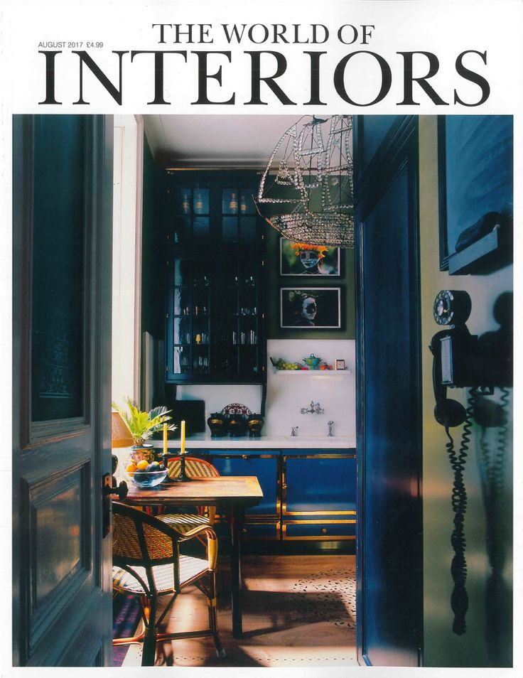 I am featured in The World of Interiors August issue. The World of Interiors is the most influential design magazine. Always relevant, always unpredictable, it doesn't so much fit into the market as define it. #DeanCopa #TheWorldofInteriors