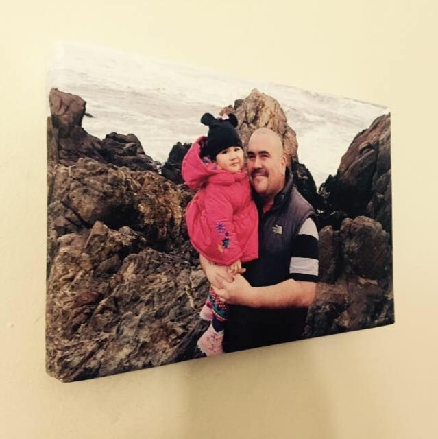 Simonart - fototelas Cuadros en tela canvas 20x30 con bastidor de madera $6.000