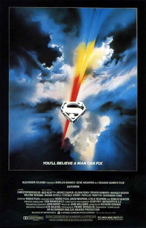 """Superman"" directed by Richard Donner / 2nd grossing film in 1978"