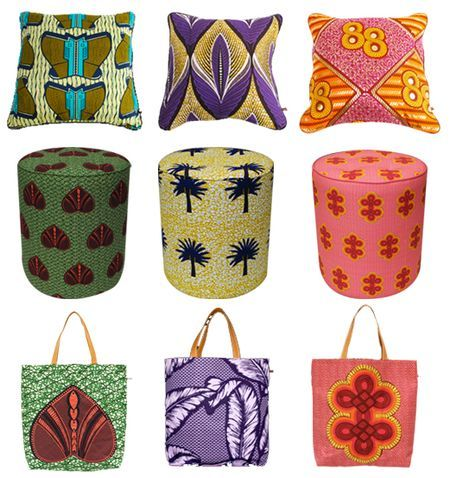 Yes...I will be making african print pillows and tote bags...