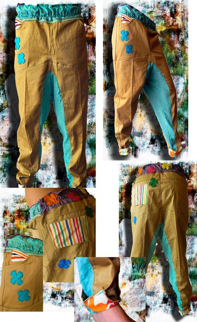 RECYCLING BAGGY gold (proj. MisZmASz recycling fashion), do kupienia w DecoBazaar.com