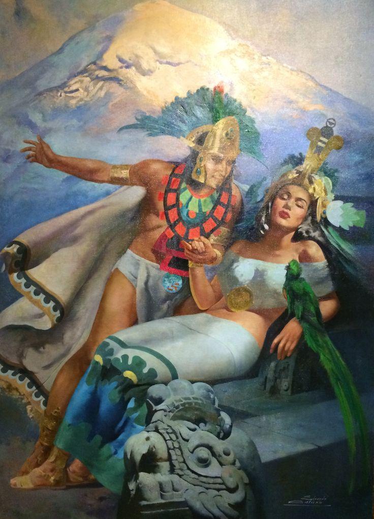 Leyenda del Popocatepetl y el Iztaccihuatl