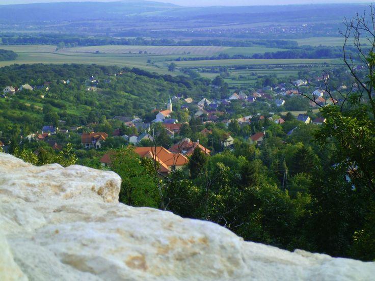 View from Csókakő (Hungary)